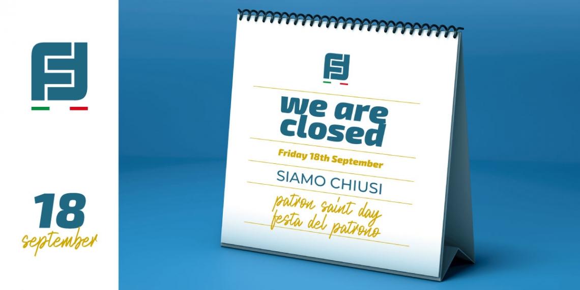 Closure Sept 18th