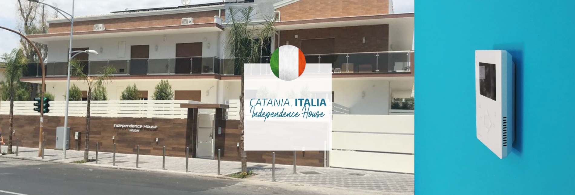 Europe Independent House Catane Italie