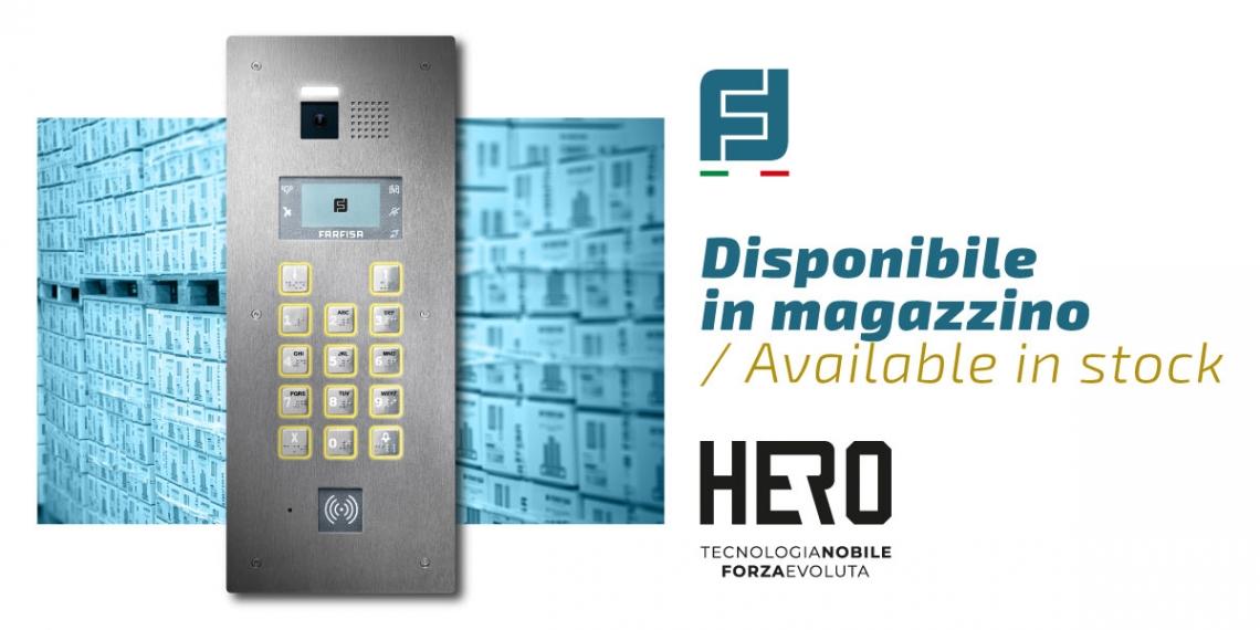Hero est disponible en stock!