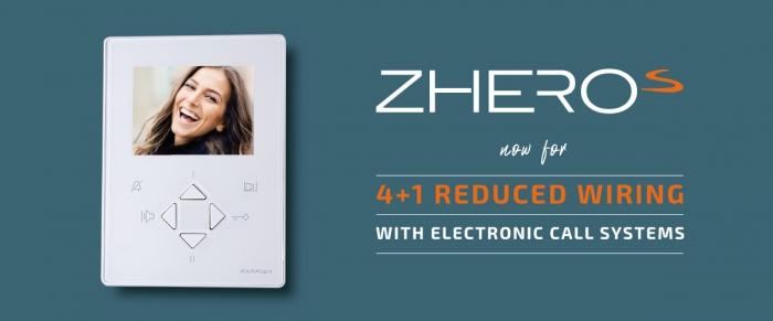 Le nouveau vidéoportier ZHeroS pour 4+1