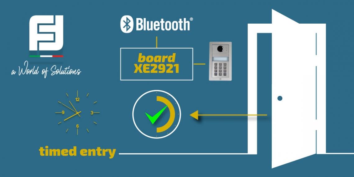 Nouvelle carte XE2921 pour Alba en technologie Bluetooth