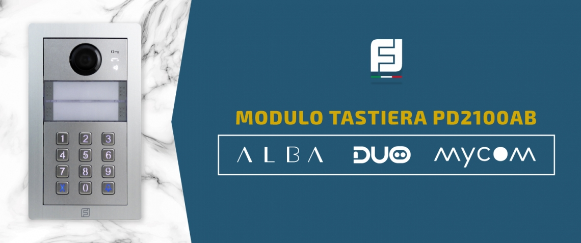 Nuova PD2100AB modulo tastiera digitale Alba